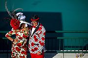 Shaun and Randi Takkinen, of Orange County, Calif., pose for a portrait.