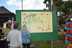 Latitude Festival 2017, Henham Park, Suffolk, UK. Map