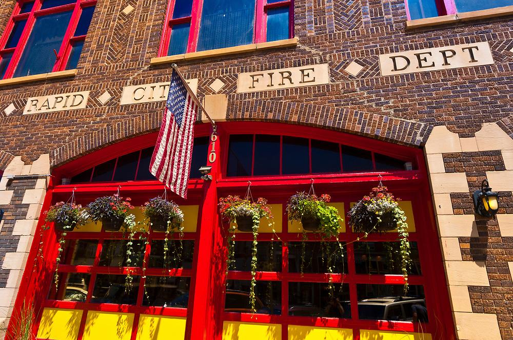 Firehouse Brewing Company, Main Street, Downtown Rapid City, South Dakota USA