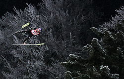 19.01.2018, Heini Klopfer Skiflugschanze, Oberstdorf, GER, FIS Skiflug Weltmeisterschaft, Einzelbewerb, im Bild Andreas Wellinger (GER) // Andreas Wellinger of Germany during individual competition of the FIS Ski Flying World Championships at the Heini-Klopfer Skiflying Hill in Oberstdorf, Germany on 2018/01/19. EXPA Pictures © 2018, PhotoCredit: EXPA/ JFK