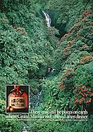 Grand Marnier Ad, Hawaii Waterfall