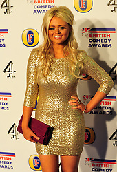 © Licensed to London News Pictures. 16/12/2011. London, England.Emily Atack attends the Channel 4 British Comedy Awards  in Wembley London .  Photo credit : ALAN ROXBOROUGH/LNP