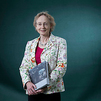 Patricia R Andrew, Scottish writer of non-fiction, at the Edinburgh International Book Festival 2015.<br /> Edinburgh. 30th August 2015<br /> <br /> Photograph by Gary Doak/Writer Pictures<br /> <br /> WORLD RIGHTS