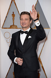 Jeremy Renner arriving for the 89th Academy Awards (Oscars) ceremony at the Dolby Theater in Los Angeles, CA, USA, February 26, 2017. Photo by Lionel Hahn/ABACAPRESS.COM