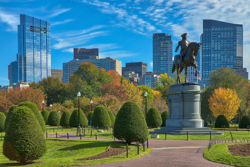 Boston fall foliage photography of the Boston Public Garden with downtown skyline on a magical autumn late afteroon.<br /> <br /> This Boston fall foliage photos of the famous Boston Public Garden with skyline are available as museum quality photography prints, canvas prints, acrylic prints or metal prints. Prints may be framed and matted to the individual liking and decorating needs:<br /> <br /> https://juergen-roth.pixels.com/featured/fall-foliage-colors-at-the-boston-public-garden-juergen-roth.html<br /> <br /> All photographs are available for digital and print use at www.ExploringTheLight.com. Please contact me direct with any questions or request.<br /> <br /> Good light and happy photo making!<br /> <br /> My best,<br /> <br /> Juergen<br /> Licensing and Prints: http://www.rothgalleries.com<br /> Instagram: https://www.instagram.com/rothgalleries<br /> Twitter: https://twitter.com/naturefineart<br /> Facebook: https://www.facebook.com/naturefineart