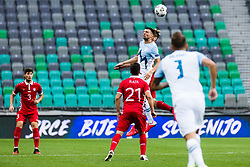 Haris Vuckic of Slovenia  during the UEFA Nations League C Group 3 match between Slovenia and Moldova at Stadion Stozice, on September 6th, 2020. Photo by Grega Valancic / Sportida