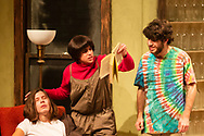 """Middletown, New York - The SUNY Orange Apprentice Players perform  """"Moonchildren"""" on stage at the William and Helen Richards Theatre at Orange Hall on the Middletown campus of SUNY Orange on Nov. 16, 2018."""