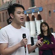 Protestors allege UK's brutal, racist treatment of asylum seeker outside Home Office  closing hour i