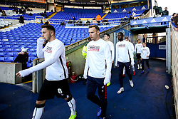 Bristol City run out for their warm up at St Andrew's - Mandatory by-line: Robbie Stephenson/JMP - 08/12/2018 - FOOTBALL - St Andrew's Stadium - Birmingham, England - Birmingham City v Bristol City - Sky Bet Championship