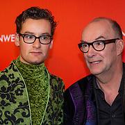 NLD/Amsterdam/20200307 - Boekenbal 2020, Splinter Chabot en zijn vader Bart Chabot