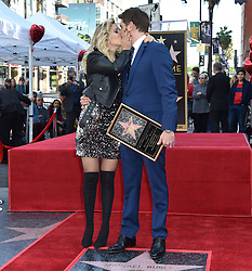 Michael Buble Hollywood Walk of Fame Star Ceremony held in front of W Hotel on November 16, 2018 in Hollywood, CA. © LuMarPhoto/AFF-USA.com. 16 Nov 2018 Pictured: Michael Buble and wife Luisana Lopilato. Photo credit: LuMarPhoto/AFF-USA.com / MEGA TheMegaAgency.com +1 888 505 6342
