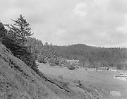 "9808-A12.  ""Agate Beach Inn at distance"" Newport, Oregon, about 1920"