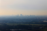 Nederland, Utrecht, Utrecht 10-01-2011;.Skyline Utrecht..luchtfoto (toeslag), aerial photo (additional fee required).foto/photo Siebe Swart