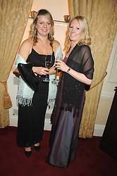 Left to right, JULIA STRACHAN and FIONA LEWIS at the 2008 Berkeley Dress Show at the Royal Hospital Chelsea, London on 3rd April 2008.<br />
