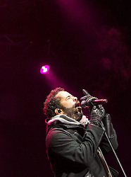 07.12.2014, Saalbach Hinterglemm, AUT, Snow Mobile, im Bild Adel Tawil in Concert // during the Snow Mobile Event at Saalbach Hinterglemm, Austria on 2014/12/07. EXPA Pictures © 2014, PhotoCredit: EXPA/ JFK