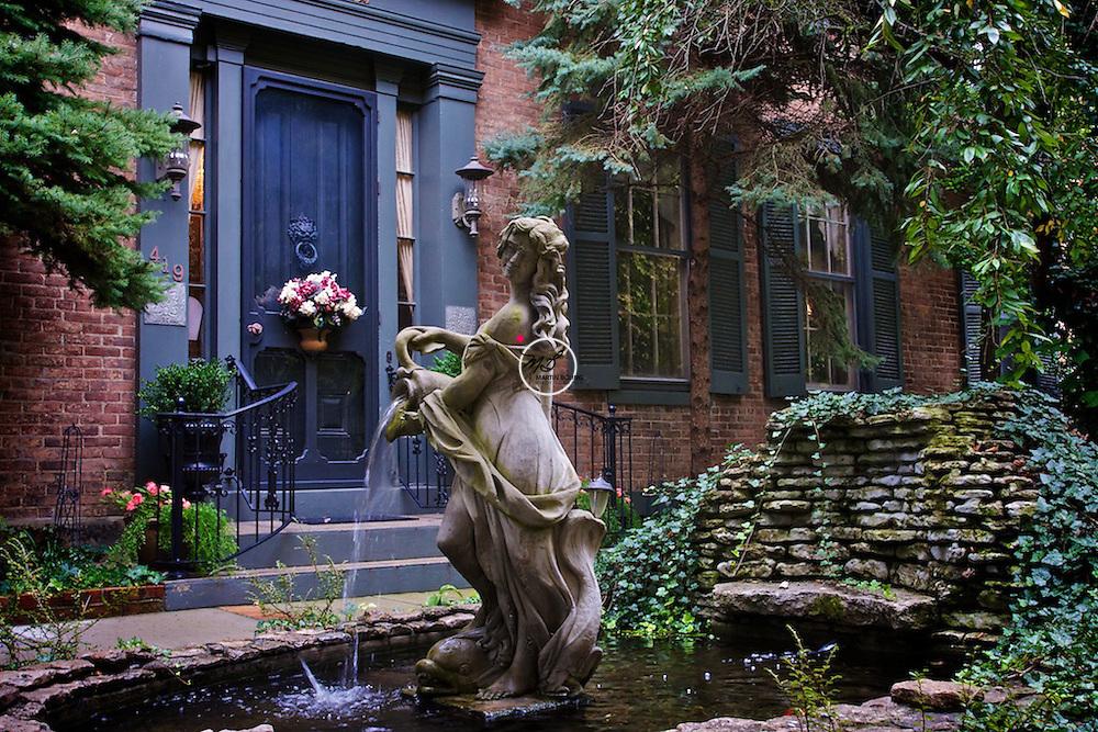 Courtyard Fountain Madison Indiana