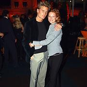 Rene Froger Concert of the Year 2002, Winston post en vriendin Denise van Rijswijk