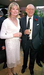 MR CHRISTOPHER & LADY MARY GAYE SHAW, <br /> she is the mother of Isabella Anstruther-Gough-Calthorpe <br /> a friend of Prince William, at a party in London on 18th May 2000.<br /> OEI 25