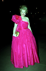 Dowager Duchess Raine Spencer arrives for the Butler and Wilson 30th anniversary gala dinner at the National History Museum, London