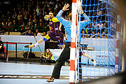 DESCRIZIONE : HandbaLL Cup Finale EHF Homme<br /> GIOCATORE : RIVERA Valero<br /> SQUADRA : Nantes <br /> EVENTO : Coupe EHF Demi Finale<br /> GARA : NANTES HOLSTEBRO<br /> DATA : 18 05 2013<br /> CATEGORIA : Handball Homme<br /> SPORT : Handball<br /> AUTORE : JF Molliere <br /> Galleria : France Hand 2012-2013 Action<br /> Fotonotizia : HandbaLL Cup Finale EHF Homme<br /> Predefinita :