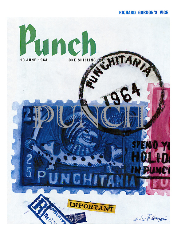 Punch cover 10 June 1964