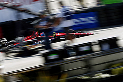April 13, 2018 - Long Beach, California, United States of America - April 13, 2018 - Long Beach, California, USA: Robert Wickens (6) takes to the track to practice for the Toyota Grand Prix of Long Beach at Streets of Long Beach in Long Beach, California. (Credit Image: © Justin R. Noe Asp Inc/ASP via ZUMA Wire)