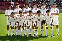 Fotball <br /> FIFA World Youth Championships 2005<br /> Nederland / Holland<br /> Foto: ProShots/Digitalsport<br /> <br /> kina - ukraina, utrecht , 14-06-2005 <br /> <br /> teamfoto kina