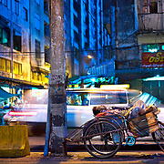 Market man rests before busy day in Yangon, Myanmar.         (Leica 240 MP with 50 Summicron APO lens)