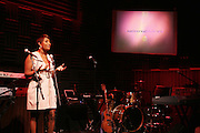Toccara at The Vibe Magazine Presents Vsessions Live! Hosted by the Fabulous Toccara featuring Hal Linton, Suai and Ron Browz held at Joe's Pub on February 25, 2009 in NYC