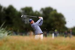 USA's Kevin Kisner on the 7th during day two of The Open Championship 2018 at Carnoustie Golf Links, Angus. PRESS ASSOCIATION Photo. Picture date: Friday July 20, 2018. See PA story GOLF Open. Photo credit should read: David Davies/PA Wire. RESTRICTIONS: Editorial use only. No commercial use. Still image use only. The Open Championship logo and clear link to The Open website (TheOpen.com) to be included on website publishing.