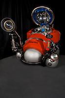 Wide shot of DeepWorker's Camera Equipment.
