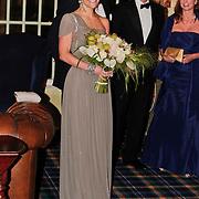 NLD/Noordwijk/20101028 - Bezoek van de Zweedse prinses Victoria en Willem Alexander aan feestavond 50 jarig bestaan Zweedse Kamer van Koophandel
