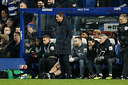 Watford Manager Javi Gracia during The FA Cup 5th round match between Queens Park Rangers and Watford at the Loftus Road Stadium, London, England on 15 February 2019.