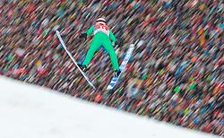 01.01.2016, Olympiaschanze, Garmisch Partenkirchen, GER, FIS Weltcup Ski Sprung, Vierschanzentournee, Bewerb, im Bild Manuel Fettner (AUT) // Manuel Fettner of Austria during his Competition Jump of Four Hills Tournament of FIS Ski Jumping World Cup at the Olympiaschanze, Garmisch Partenkirchen, Germany on 2016/01/01. EXPA Pictures © 2016, PhotoCredit: EXPA/ JFK