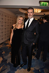 Emma Scanlon and Rupert Everett at the Chain of Hope Gala Ball held at the Grosvenor House Hotel, Park Lane, London England. 17 November 2017.<br /> Photo by Dominic O'Neill/SilverHub 0203 174 1069 sales@silverhubmedia.com