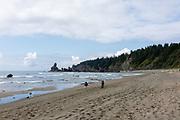 Shi Shi Beach, Olympic National Park, Washington, USA.
