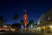 Aloha Tower, Honolulu, Oahu, Hawaii