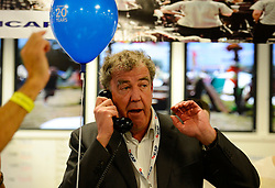 Jeremy Clarkson joins ICAP in its London office to speak to customers and help boost trading volumes for the day, London, UK, December 5, 2012. Photo by i-Images.<br /> File photo - Jeremy Clarkson's wife to divorce him after 21 years of marriage'. Photo filed Tuesday 6th May 2014.