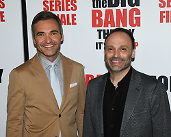 May 1, 2019 - Steve Holland and STEVE MOLARO attends The Big Bang Theory's Series Finale Party at the The Langham Huntington. (Credit Image: © Billy Bennight/ZUMA Wire)