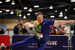 2020 USATF Indoor Championship<br /> Albuquerque, NM 2020-02-15<br /> photo credit: © 2020 Kevin Morris<br /> mens shot put, Nike