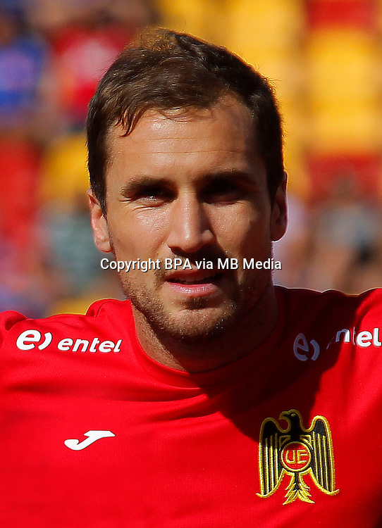 Chile Football League First Division - <br /> Scotiabank Tournament 2016 - <br /> ( Club Union Espanola ) - <br /> Nicolas Berardo