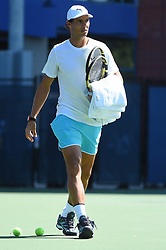 Rafael Nadal (SPA) during his practice at the 2019 US Open at Billie Jean National Tennis Center in New York City, NY, USA, on August 24, 2019. Photo by Corinne Dubreuil/ABACAPRESS.COM