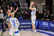DESCRIZIONE : Campionato 2014/15 Serie A Beko Dinamo Banco di Sardegna Sassari - Upea Capo D'Orlando<br /> GIOCATORE : Matteo Formenti<br /> CATEGORIA : Tiro Tre Punti Three Point Controcampo<br /> SQUADRA : Dinamo Banco di Sardegna Sassari<br /> EVENTO : LegaBasket Serie A Beko 2014/2015<br /> GARA : Dinamo Banco di Sardegna Sassari - Upea Capo D'Orlando<br /> DATA : 22/03/2015<br /> SPORT : Pallacanestro <br /> AUTORE : Agenzia Ciamillo-Castoria/L.Canu<br /> Galleria : LegaBasket Serie A Beko 2014/2015