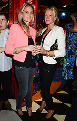 Left to right, SARAH MARSHALL LEE and MICKI HACKING at a party to celebrate the launch of Charlie Gilkes and Duncan Stirling's new nightclub 'Disco' at 13 Kingly Court, London on 26th June 2013.