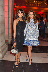 Left to right, Jackie St.Clair and Kimberleigh Gelber at the Mary Quant VIP Preview at The Victoria & Albert Museum, London, England. 03 April 2019. <br /> <br /> ***For fees please contact us prior to publication***