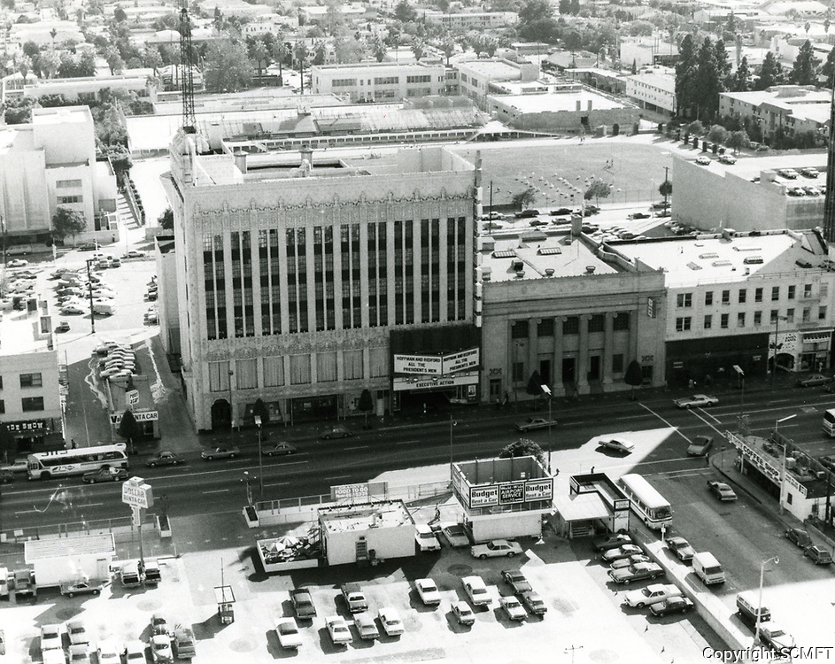 Paramount Theater & Masonic Temple on Hollywood Blvd. at Orchid Ave.