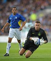 Artur Boruc of Celtic<br /> Cardiff City vs Celtic<br /> Pre-season friendly, Cardiff City Stadium, Cardiff, Wales, UK<br /> 22/07/2009. Credit Colorsport/Dan Rowley