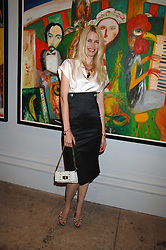 CLAUDIA SCHIFFER at the Royal Academy of Arts Summer Exhibition Party at the Royal Academy, Piccadilly, London on 6th June 2007.<br />