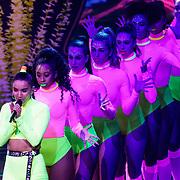 NLD/Hilversum/20190201- TVOH 2019 1e liveshow, optreden Debrah Jade