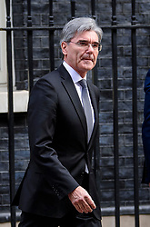 © Licensed to London News Pictures. 30/03/2017. London, UK. JOE KAESER, CEO of of Siemens AG, seen leaving Number 10 Downing Street on March 30, 2017 Photo credit: Ben Cawthra/LNP